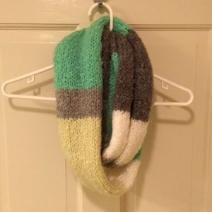 American Eagle Color Blocked Infinity Scarf
